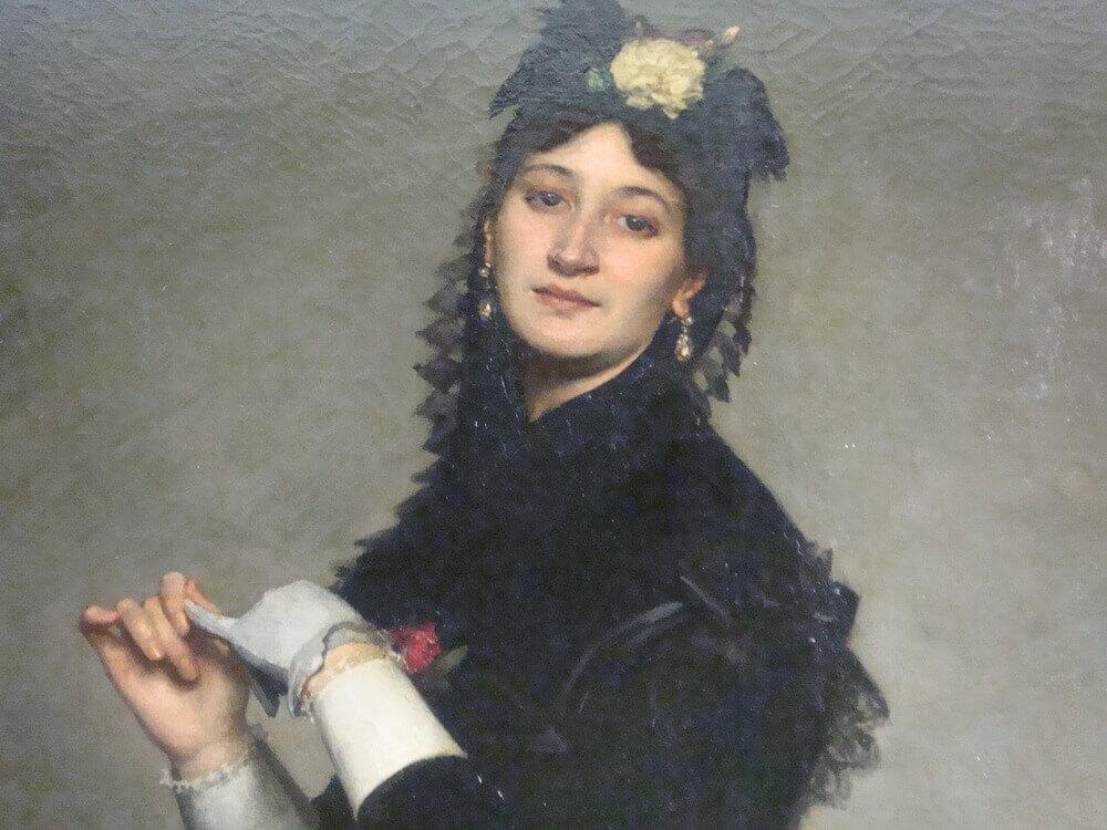 Femme au gant duran
