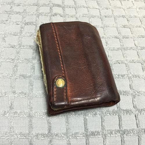 7年くらい使った財布