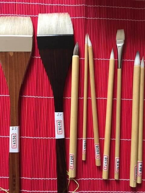 日本画 画材 筆