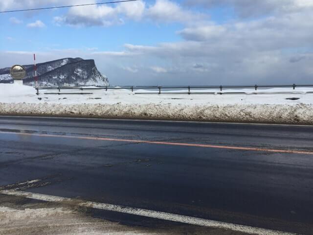 冬のシリパ山
