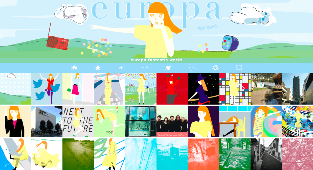 europa fantastic world