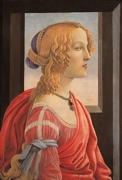 美しきシモネッタの肖像