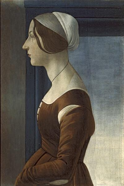 女性の肖像(美しきシモネッタ)