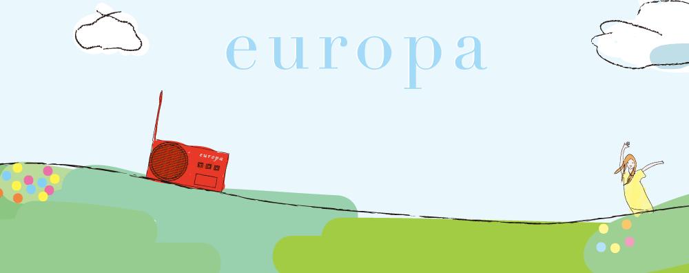 一番最初のeuropaのヘッダー
